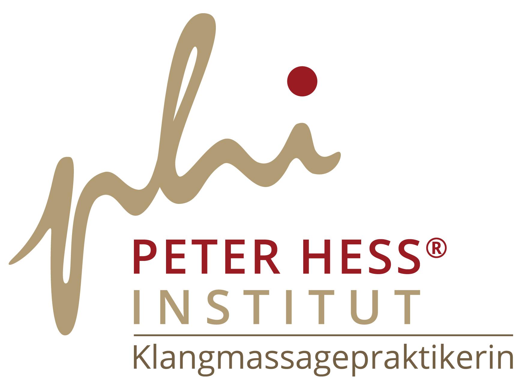Logo Klangmassagepraktikerin Peter Hess Institut