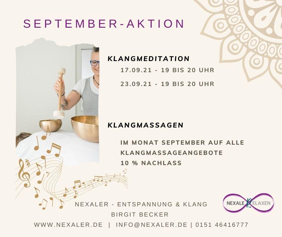 September Aktion 2021